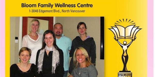 2011 North Shore News Readers' Choice: Bloom Family Wellness wins Favourite Alternative Health and Therapy Facility!